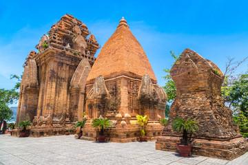 Zelfklevend Fotobehang Asia land Ponagar Tower in Nha Trang, Vietnam