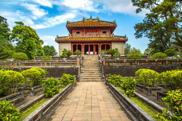 Foto op Canvas Asia land Minh Mang Tomb in Hue, Vietnam