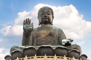Photo sur Plexiglas Buddha Giant Buddha in Hong Kong