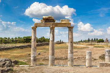 Wall Mural - Ancient city Hierapolis in Turkey