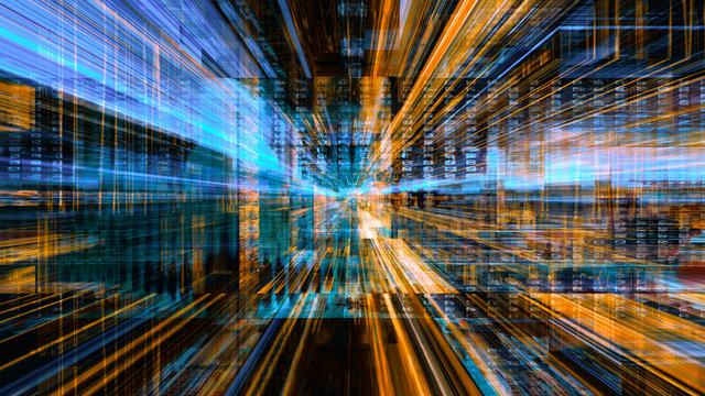 Futuristic Digital Light Technology 10604
