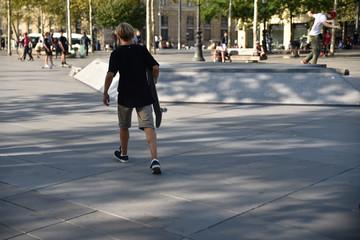 Skaters en été