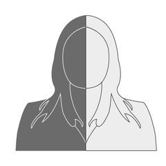 Woman Avatar Professional Icon, woman flat icon, woman avatar, woman character symbol, Woman cartoon, Business Woman Symbols