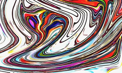 Abstract art background. Colorful texture. Creative concept pattern with design elements. Graphic artwork. Drawing in modern impressionism style. Backdrop print template. Psychedelic desktop wallpaper