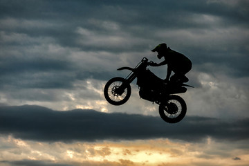 flying moto, Moto freestyle