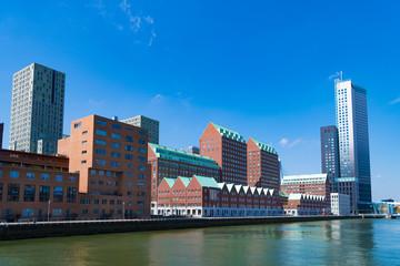 Photo sur Aluminium Rotterdam modern architecture in Rotterdam