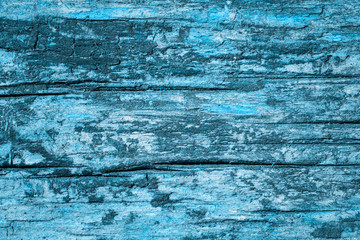blue wooden background for design fantastic old board