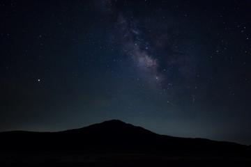 草千里ヶ浜の星空