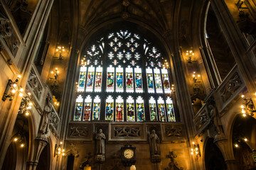 John Rylands Library Manchester  interior