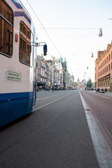 Amsterdam, The Netherlands,  may 2018, city center