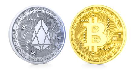 Bitcoin and Eos
