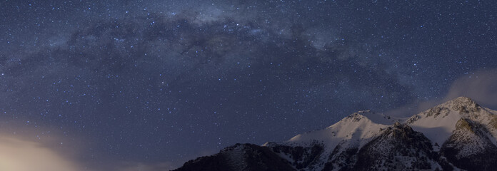 Milky Way Seen From Patagonia
