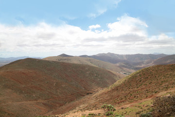 Fuerteventura, Panorama, mountains