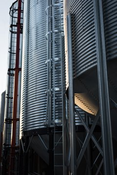 Bio fuel plant at bio gas station
