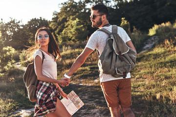 Romantic travel.