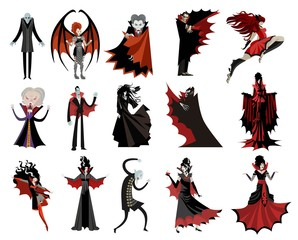 monster vampires collection