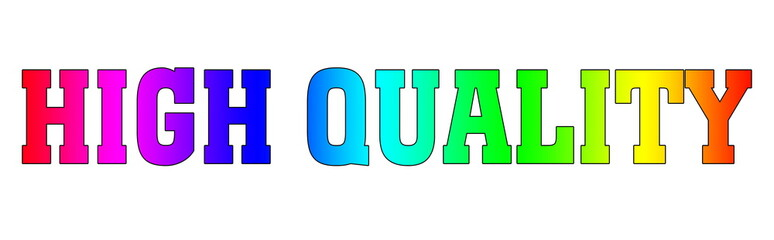 high quality Blured rainbow gradient logo