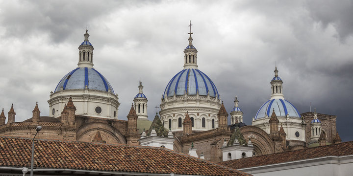 Domes of the cathedral of Cuenca