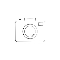 camera icon. Element of electrical devices icon. Premium quality graphic design. Signs,  symbols collection icon for websites, web design, mobile app on white background