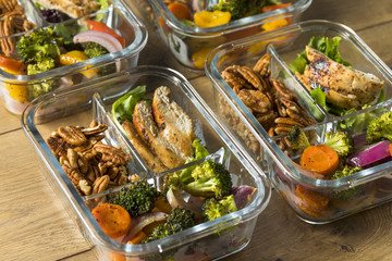 Homemade Keto Chicken Meal Prep