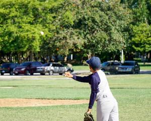 Junior Baseball Game
