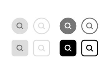 検索ボタン。グラフィック素材、デザインアイコン