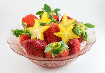 strawberries carom