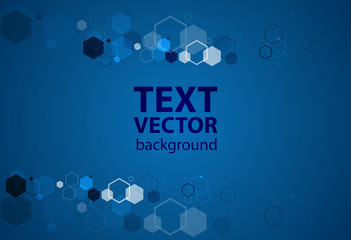 Blue background vector illustration lighting effect graphic for text and message board design infographic
