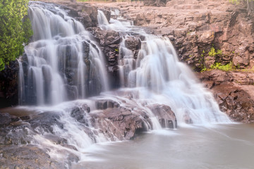 Water falls at Gooseberry National Park, Duluth, Minnesota