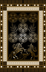 Graphical illustration of a Tarot card 8