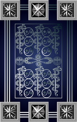 Graphical illustration of a Tarot card 14_2