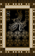 Graphical illustration of a Tarot card 16