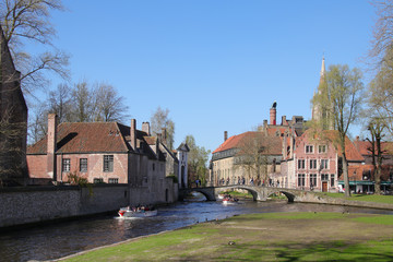 Minnewaterpark, Brügge, Brugge, Boat, Canal