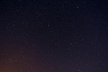 Stars on night sky - constellation Ursa Major (Big Dipper)