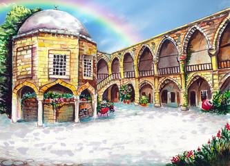 Buyuk Han Northern Cyprus art