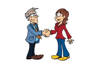 Handshake Bertrand_Sophie