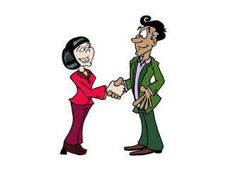 Handshake Ji-Manuel