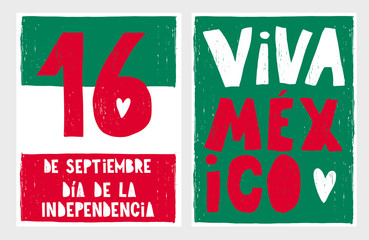 mexico, viva, mexican, independence, flag, day, tag, card, poster, print, sticker, tag, colors, celebration, national, patriotic, september, banner, party, hand, drawn, written, abstract, creative, tr