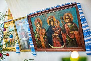 Deurstickers Imagination Church interior. Kiev, Ukraine