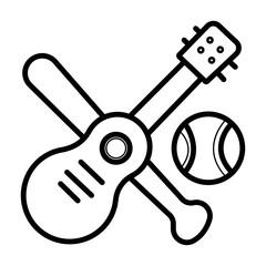 Hobbies icon Vector illustration