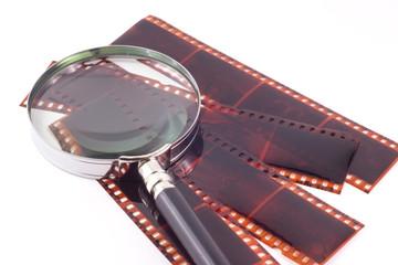 Film e lente di ingrandimento