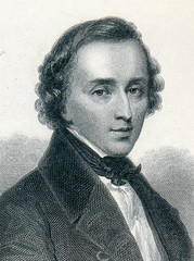 Portrait of Frederic Francois Chopin