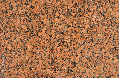 Natural Stone Red Granite Background Bright Hard Rock Texture