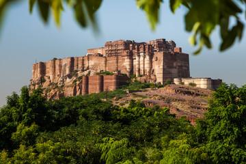 Meherangarh, Festung in Jodhpur, Indien