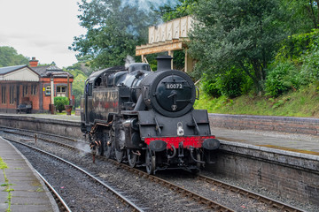 Steam train from the Llangollen railway