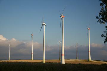 Windräder - erneuerbare Energien
