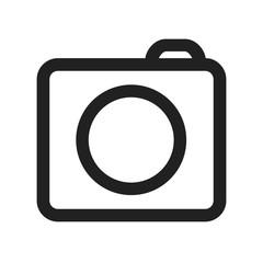 Photo camera icons sign - stock vector icon
