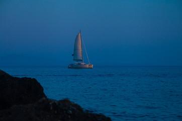 Dream of romantic vacation