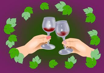 A celebration of wine.