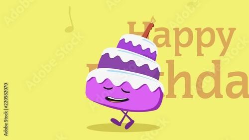 Geburtstag Animation Stockmaterial Und Lizenzfreie Videos Auf